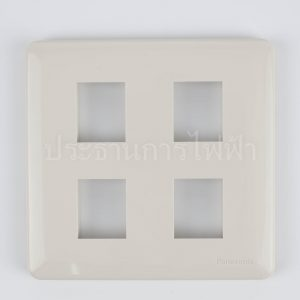 four socket plate for panasonic series switch