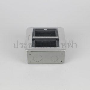 DUMF3200LT เหลี่ยม ฝังพื้น 6 ช่อง บานพับ2ด้าน panasonic