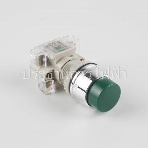 T2BLRG-1C สวิตช์กดหัวนูน 22มม สีเขียว 1a1b tend