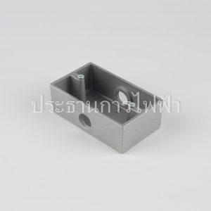FS-H BOXแนวนอนไม่มีจมูก 2 ทางตรงข้าม KCE