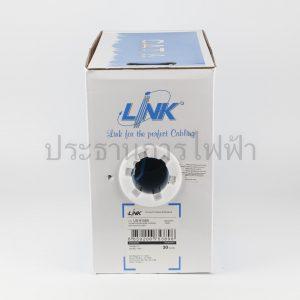 US-9106A สายแลน CAT6 UTP CMR 305เมตร สีฟ้า Link