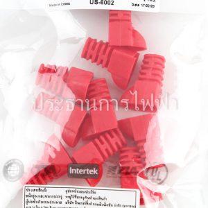 US-6002 CAT5E PLUG BOOTS สีแดง Link