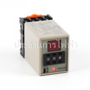 AH3D-DM 0.01s-990h 220V Timer ดิจิตอล 8 ขา Chikachi