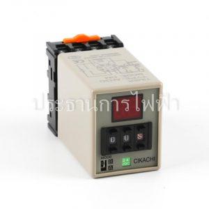 AH3D-DM 0.01s-990h 24VDC Timer ดิจิตอล 8 ขา Chikachi