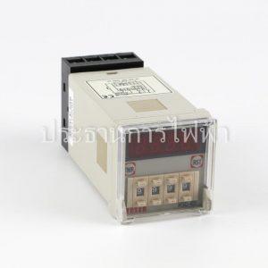 H5C-4D Counter 4หลัก ดิจิตอล แบบกดเลือน 90-220V 48x48 fotek