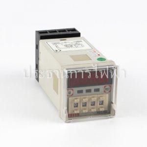H5T-4D ไทมเมอร์ 4หลัก ดิจิตอล แบบกดเลื่อน 90-220V 48x48 Fotek