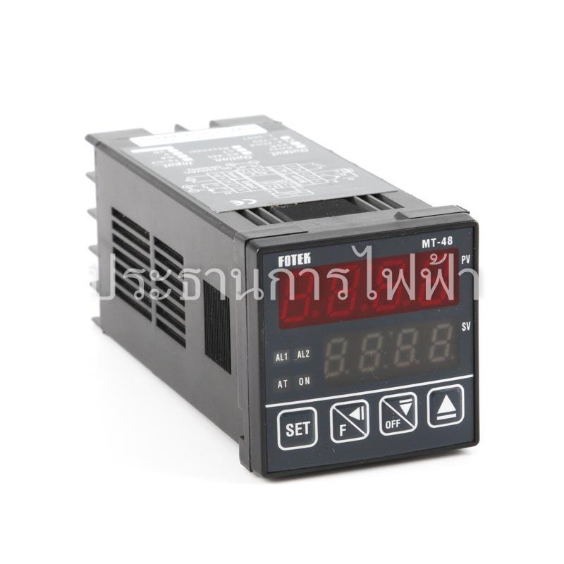MT48-L Temp ดิจิตอล ออกแอมป์ L 48x48 90-250VAC fotek ห้ามต่อไฟ 220v ที่output เด็ดขาด