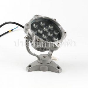JC-633 โคมไฟใต้น้ำ แบบมีขาปรับมุมได้ LED 12W/DL
