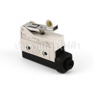 D4MC2020 ก้านแขนสั้นติดหัวลูกล้อ Limit Switch Omron