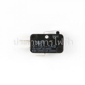 V-151-1A5 ก้านสั้น 2ขา 15A mini Basic Switch Omron
