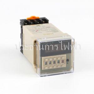 DH48J DIGITAL COUNTER 4หลัก 220V x1 x10 x100 PNC