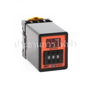 W-DT2 ดิจิตอล TIMER Time Range0.1sec-99Hr 100-265VAC WIP
