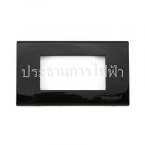 WEG6803BK ฝาพลาสติก 3 ช่อง สีดําสนิท panasonic