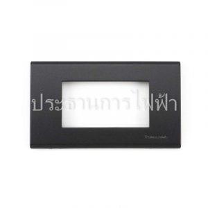WEG6803MB ฝาพลาสติก 3 ช่อง สีเทาดำ panasonic