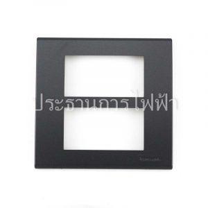 WEG6806MB ฝาพลาสติก 6 ช่อง สีเทาดำ pana