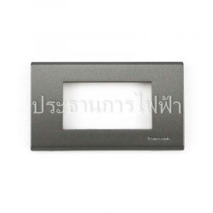 WEG6803MH ฝาพลาสติก 3 ช่อง สีเทา panasonic