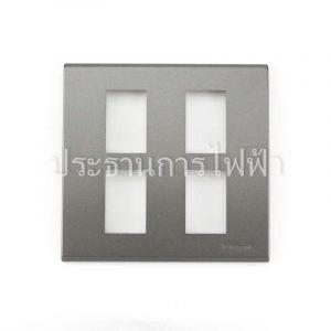 WEG6804MH ฝาพลาสติก 4 ช่อง สีเทา panasonic