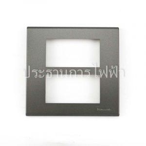WEG6806MH ฝาพลาสติก 6 ช่อง สีเทา panasonic
