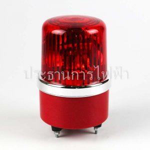 "NO1-12 ไฟหมุน 4"" สีแดง 12VDC RED bigone"