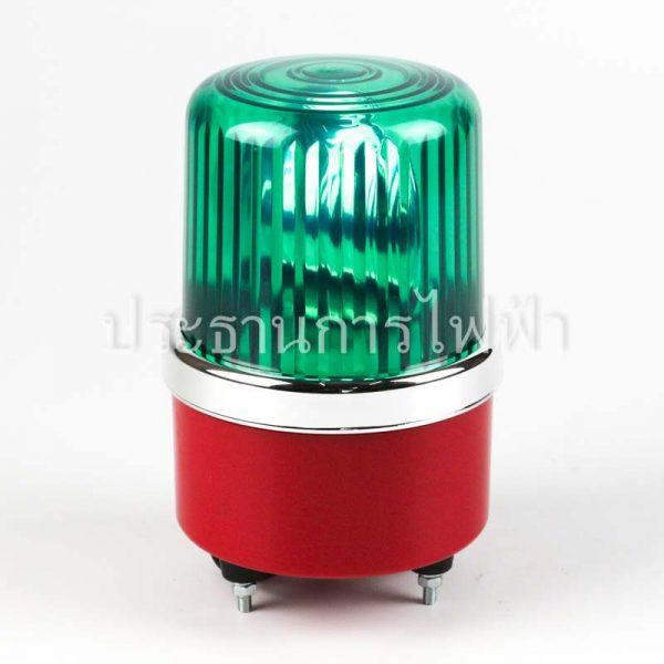 "NO1-220 ไฟหมุน 4"" สีเขียว 220VAC GREEN bigone"