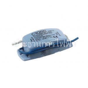 หม้อแปลงอิเล็กทรอนิกส์ 50W สีฟ้า ET50/12 CROSS