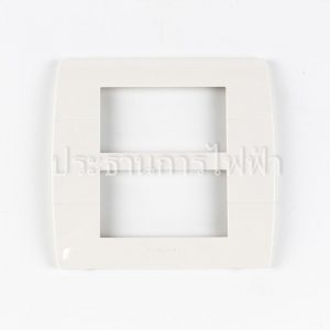 WEAG6806W นีโอฝาพลาสติก 6 ช่อง สีขาว pana