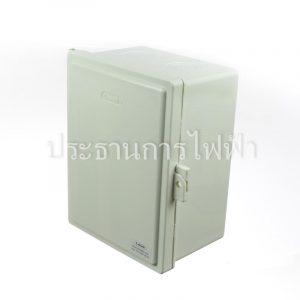 CA608W ตู้กันน้ำฝาทึบ 6x8 สีขาว ลีเทค